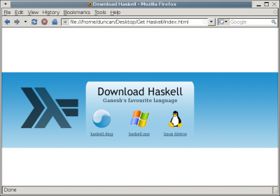 Get Haskell